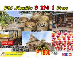 Old Manila 3 in 1 Package
