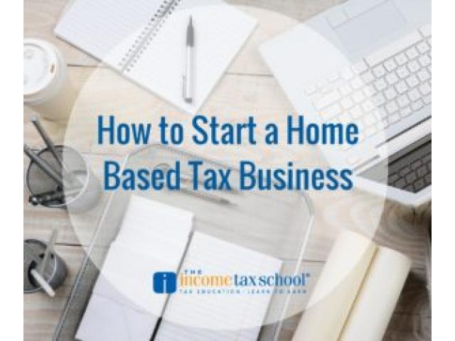 How to Start a Home Based Tax Business