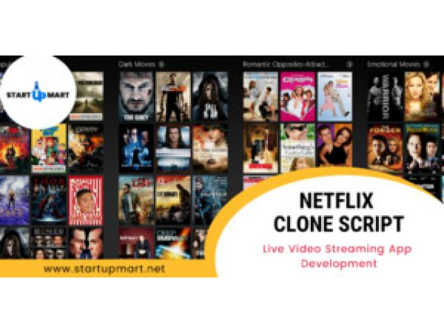 Create an On-Demand Video Streaming App like Netflix