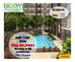 Bloom Residences Sucat, Paranaque condo for sale