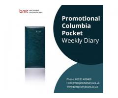Promotional Columbia Pocket Weekly Diary