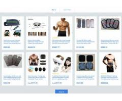 Online Fitness store with 1000 Products  - R7,700 ZAR