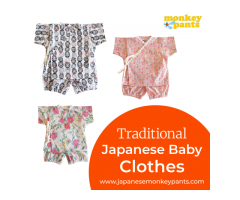 Traditional japanese baby clothes