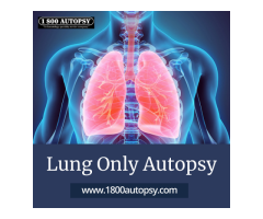 Lung Only Autopsy