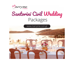 Santorini Civil Wedding Packages
