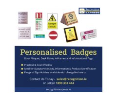 Personalised Badges