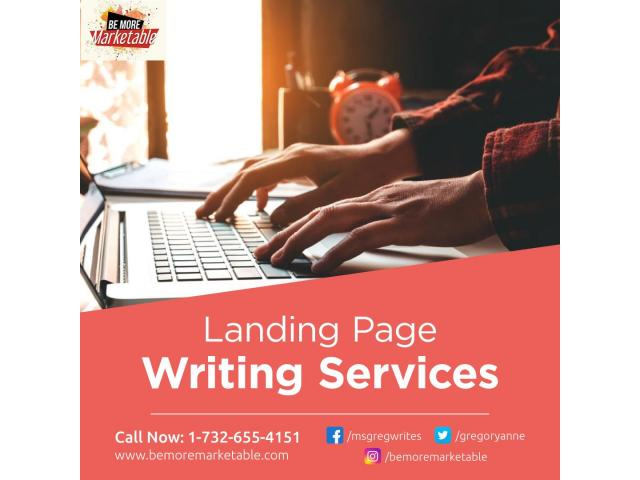 Landing Page Writing Services