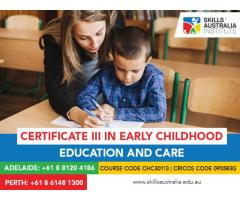 Do you want to make a career in the child care world? Join our certificate 3 in childcare Perth