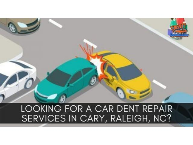 Looking for a Car Dent Repair Services in Cary, Raleigh, NC?