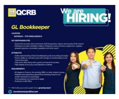 GL Bookkeeper - Sto.Tomas, Batangas Branch