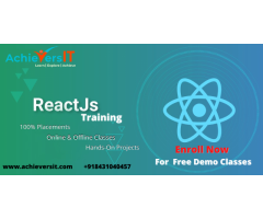 Best React.JS Training WITH 100% PLACEMENT