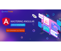 Angular Online Training  - Dotnettricks