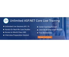 ASP.NET core training