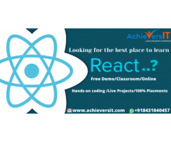 Best ReactJS Development Bootcamp in 2020 in Bangalore | Building a User Interface with reactJS