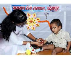 Donate Money to The Best Charity Foundation in India Narayan Seva Sansthan