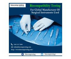 Biocompatibility Testing For Manufacturer of Surgical Instruments Used in Operating Rooms