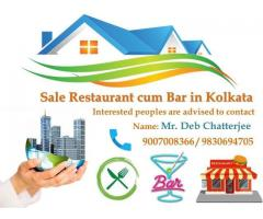 Complete Running Bar cum Restaurant for sale in Kolkata
