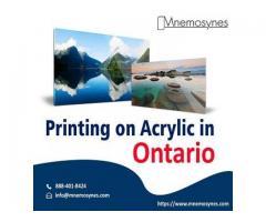Printing on Acrylic in Ontario