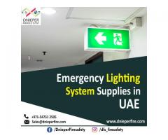 Emergency Lighting System Supplies in UAE