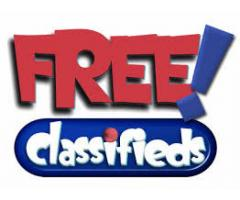 Post Free Classified Ads