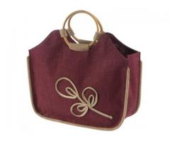 Manufacturer and exporter of eco friendly jute fashion bags in Russia