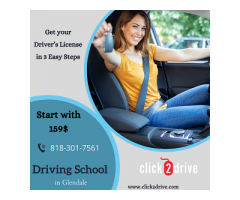 Click2Drive Driving School in Glendale Drivers License Test