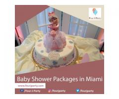Baby Shower Packages in Miami