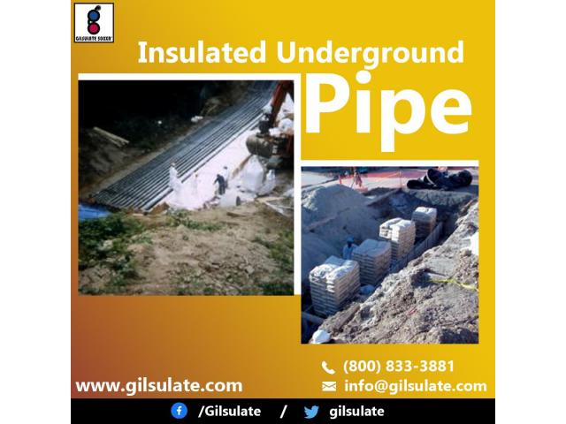 Insulated Underground Pipe