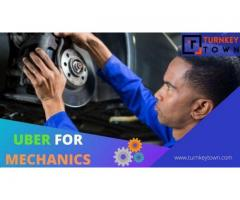 Reach out to technicians round-the-clock in an Uber for mechanic app