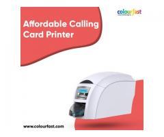 Affordable Calling Card Printer