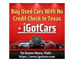 Buy Used Cars With No Credit Check In Texas