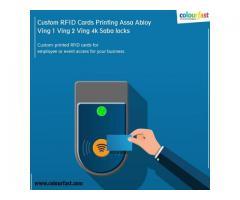 Custom RFID Cards Printing Assa Abloy Ving 1 Ving 2 Ving 4k Saba locks