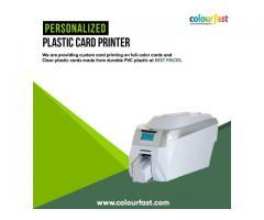 Personalized Plastic Card Printer