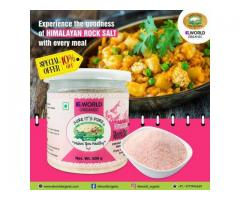 Want some real and Organic Sendha Namak? Order now here at Elworld