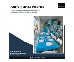 Party Rental Weston