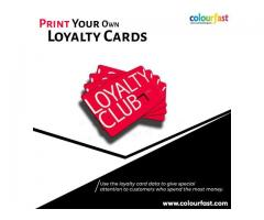 Print Your Own Loyalty Cards