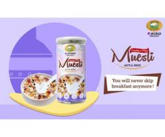 Want some real and organic Muesli ? Order now here at Elworld